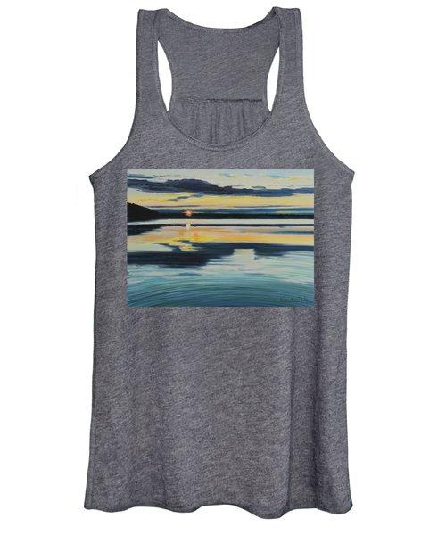 Bass Lake Sunset Women's Tank Top
