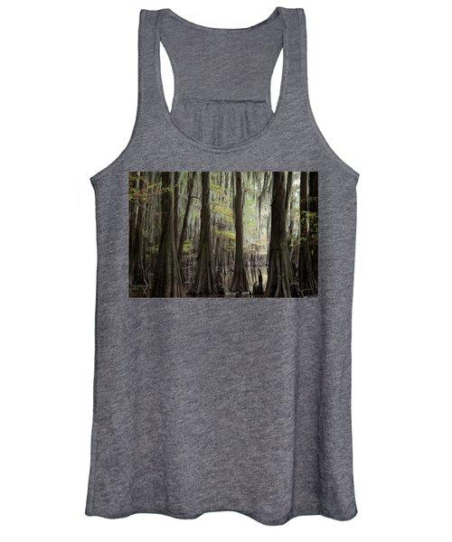Bayou Trees Women's Tank Top
