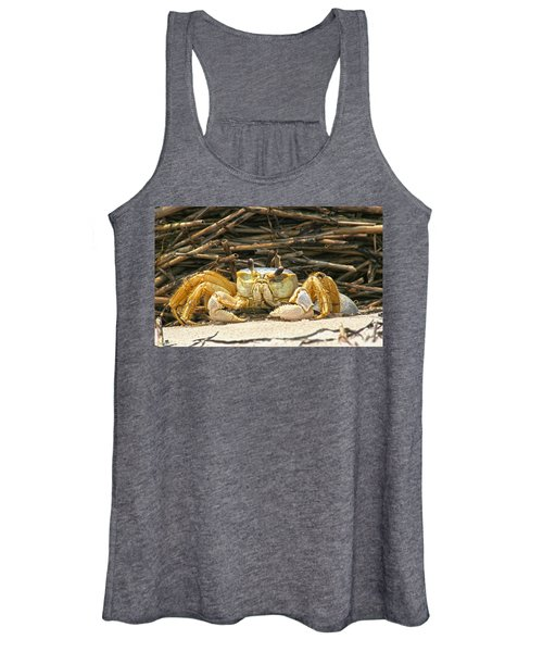 Beach Crab Women's Tank Top