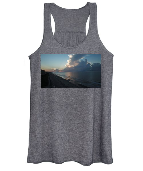 Beach Silver Lining  Women's Tank Top