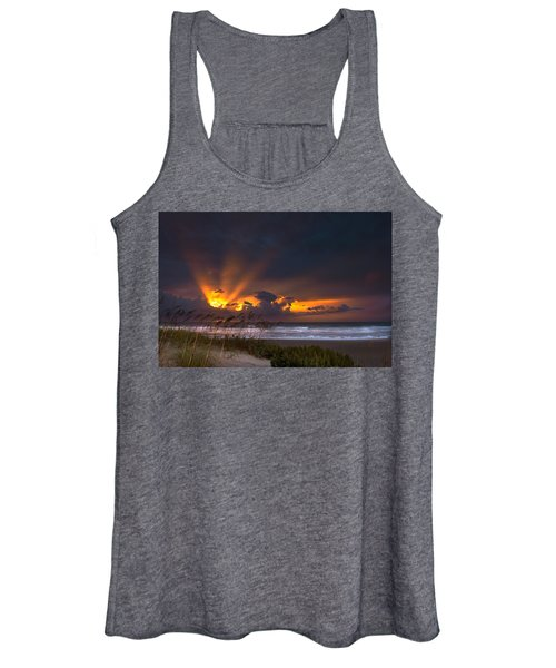Beach Sunrise Women's Tank Top