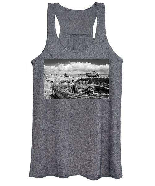 Beached Boats. Women's Tank Top
