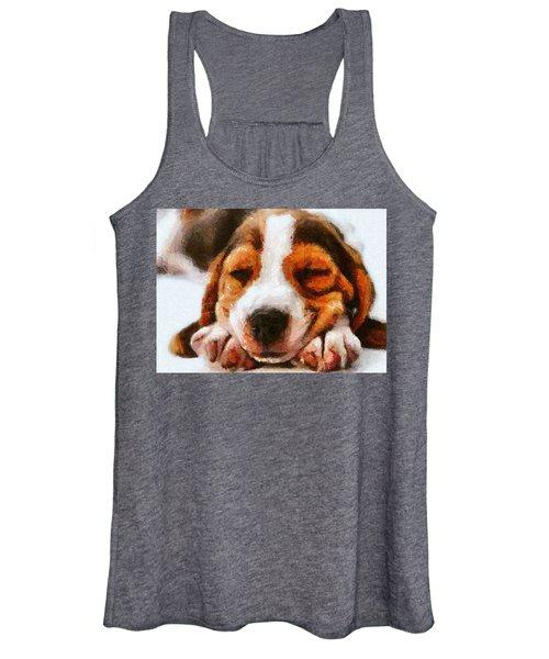 Beagle Puppy Women's Tank Top