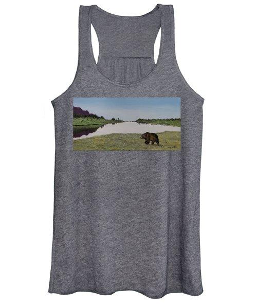 Bear Reflecting Women's Tank Top