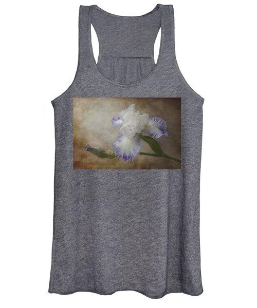 Bearded Iris 'gnuz Spread' Women's Tank Top