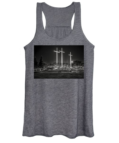 Bearing Witness In Black-and-white 2 Women's Tank Top