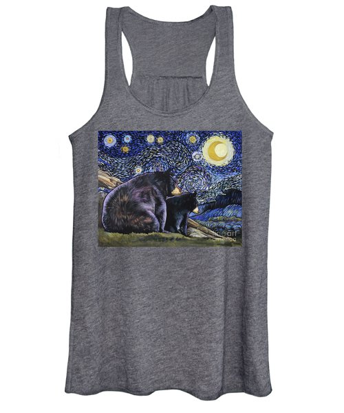 Beary Starry Nights Too Women's Tank Top