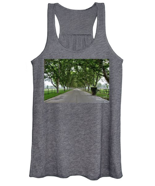 Entrance To River Edge Farm Women's Tank Top