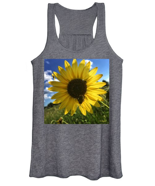 Bee And Sunflower Women's Tank Top