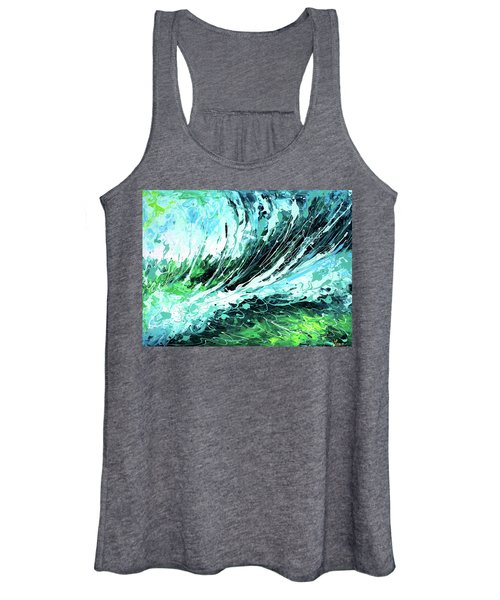 Behind The Curtain Women's Tank Top