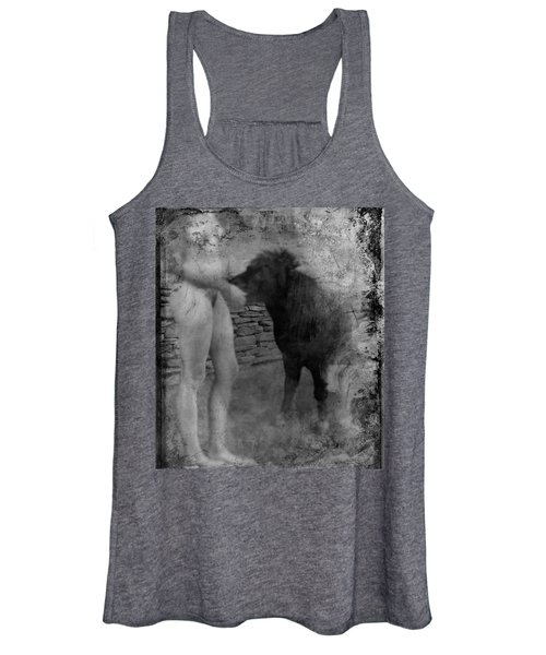 Belfast Nude With Mininature  Women's Tank Top