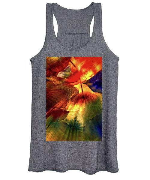 Bellagio Ceiling Sculpture Abstract Women's Tank Top