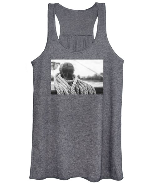 Beneath The Sail Coiled Rope Women's Tank Top