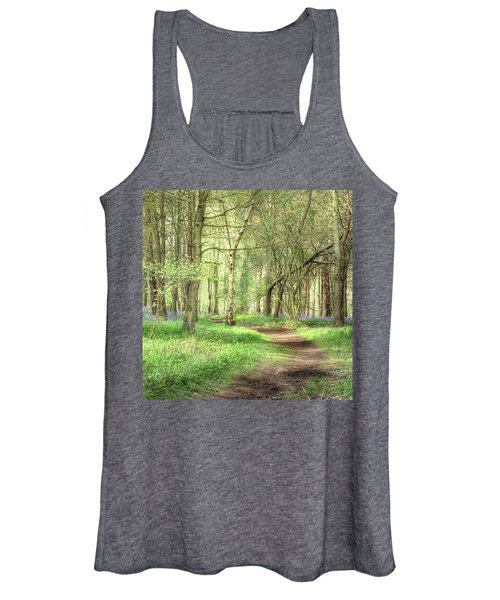 Bentley Woods, Warwickshire #landscape Women's Tank Top
