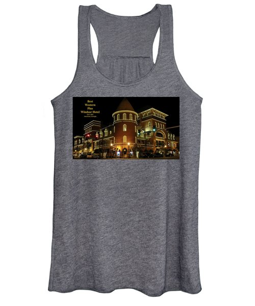 Best Western Plus Windsor Hotel - Christmas Women's Tank Top