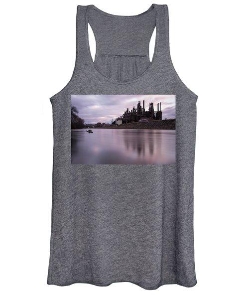Bethlehem Steel Sunset Women's Tank Top