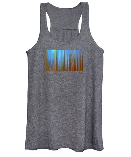 Women's Tank Top featuring the digital art Beyond The Veil  by Gina Harrison