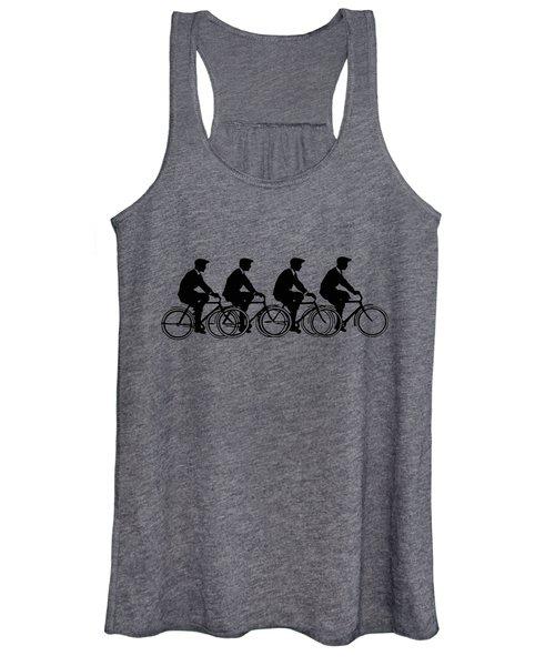 Bicycling T Shirt Design Women's Tank Top