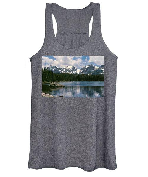 Bierstadt Lake Hallett And Otis Peaks Rocky  Mountain National Park Women's Tank Top