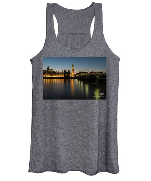 Big Ben Thames Dusk Serenity Women's Tank Top