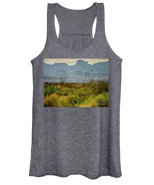 Big Bend Mountains Women's Tank Top