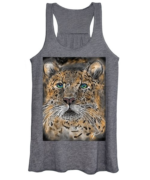Big Cat Women's Tank Top