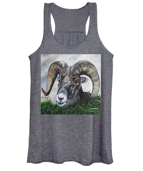 Big Horned Sheep Women's Tank Top