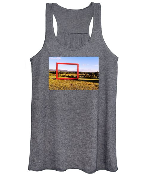 Big Red Frame Easthampton Women's Tank Top
