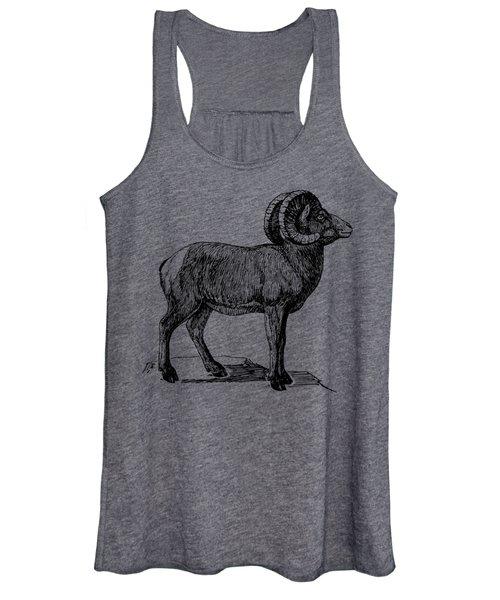 Bighorn Sheep  Women's Tank Top