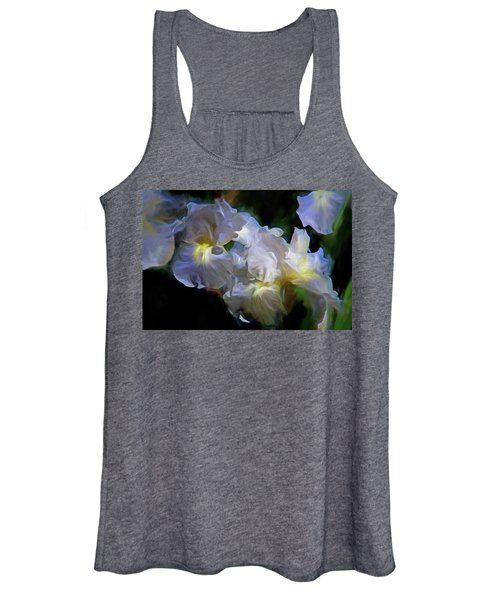 Billowing Irises Women's Tank Top