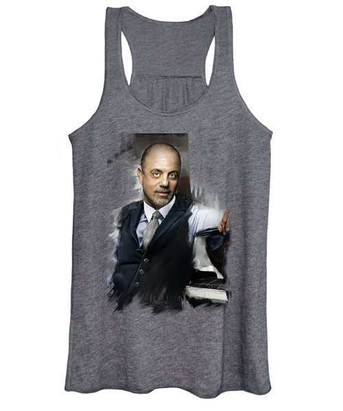 Billy Joel Women's Tank Top