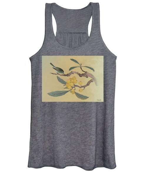 Bird In Loquat Tree Women's Tank Top