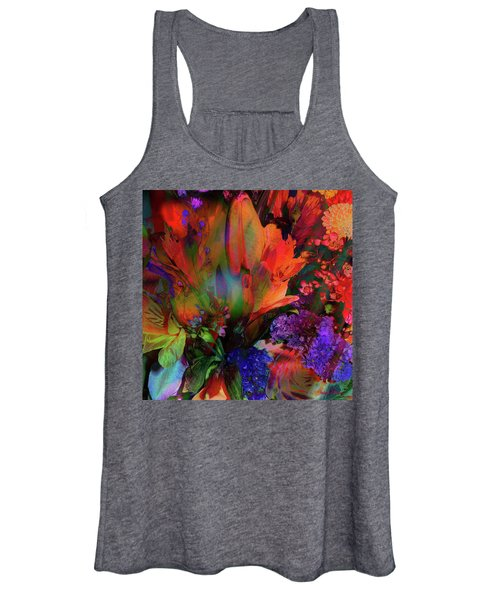Birthday Flowers Women's Tank Top