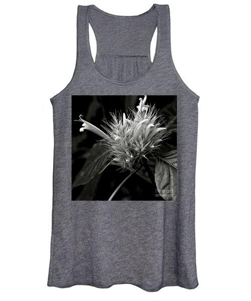 Bizarre Flower Charm Women's Tank Top