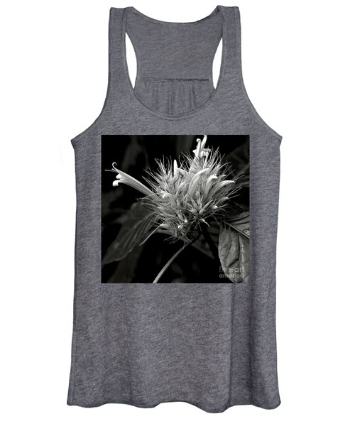 Bizarre Flower Charm Women's Tank Top