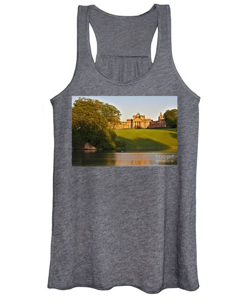 Blenheim Palace And Lake Women's Tank Top