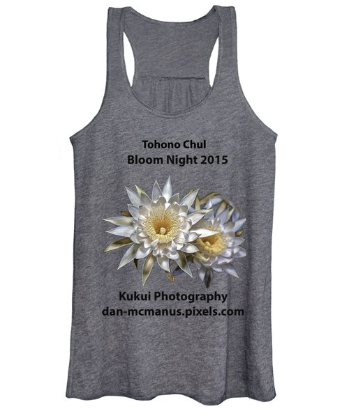 Bloom Night T Shirt Women's Tank Top