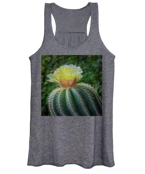 Blooming Cactus Women's Tank Top