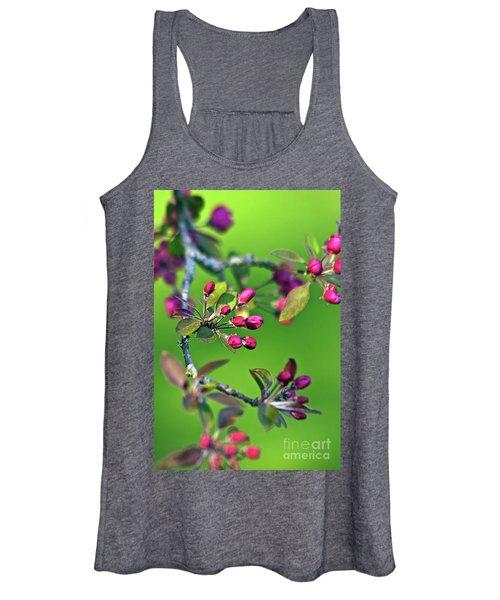 Blooming Spring Poetry Women's Tank Top