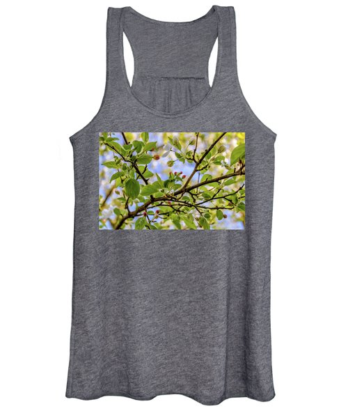 Blossoms And Leaves Women's Tank Top