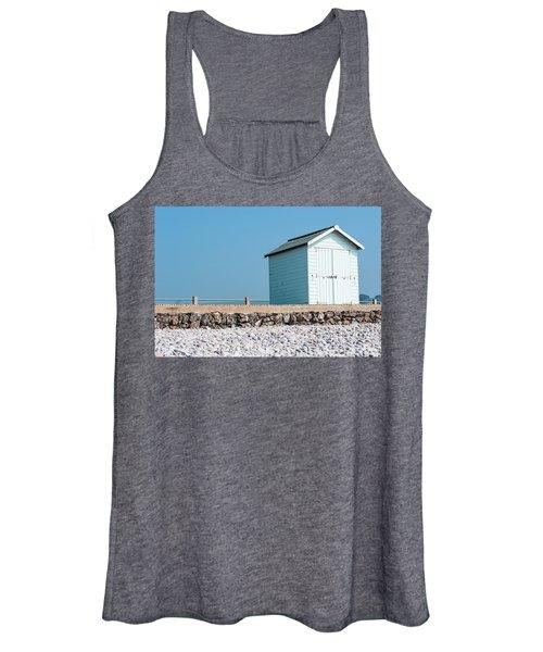 Blue Beach Hut Women's Tank Top