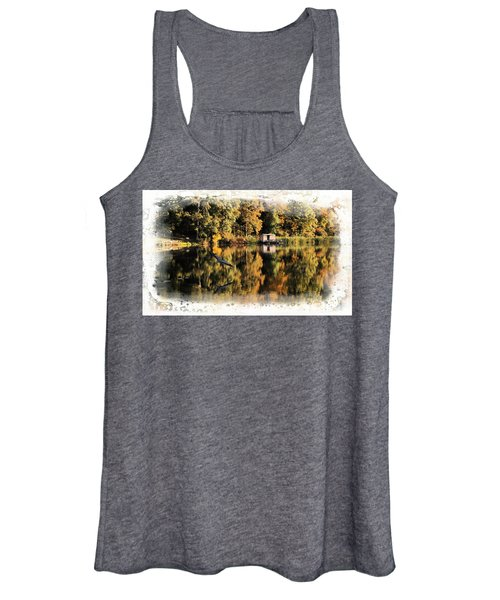 Blue Heron Women's Tank Top