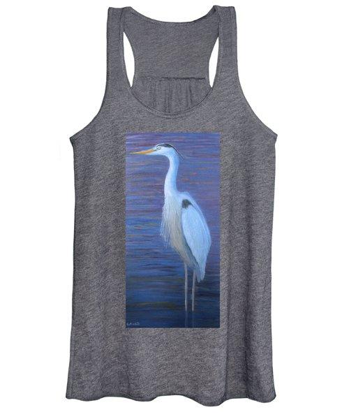 Blue Heron Women's Tank Top