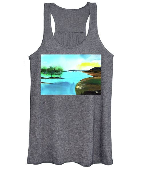Blue Lake Women's Tank Top
