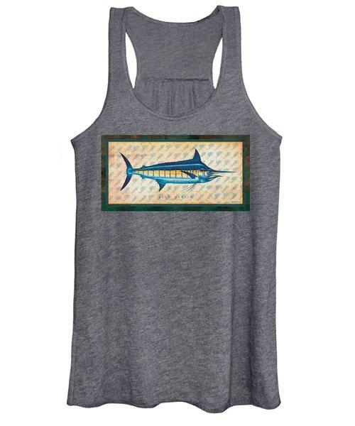 Blue Marlin Women's Tank Top