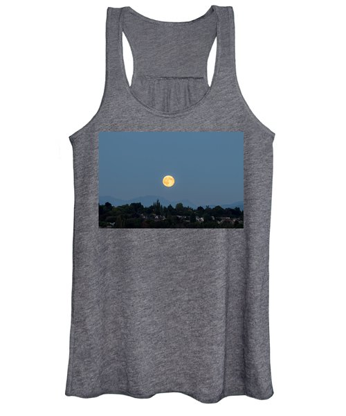 Blue Moon.3 Women's Tank Top