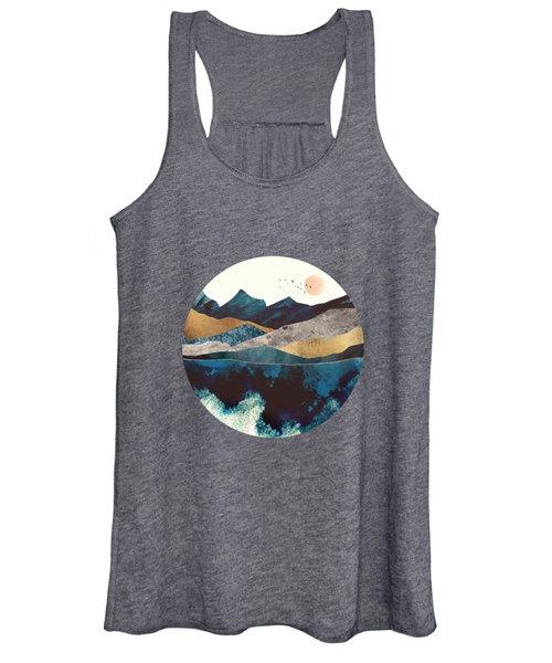 Blue Mountain Reflection Women's Tank Top