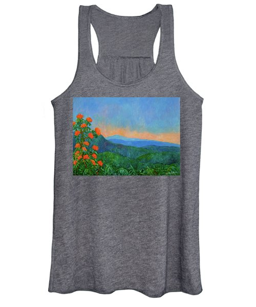 Blue Ridge Morning Women's Tank Top