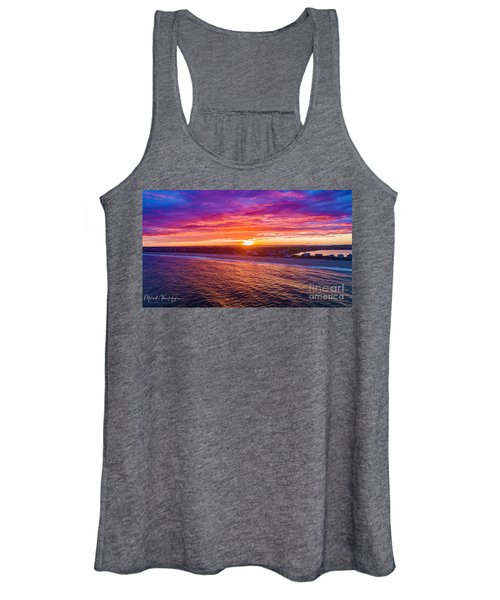 Blue Shutter East Beach Women's Tank Top
