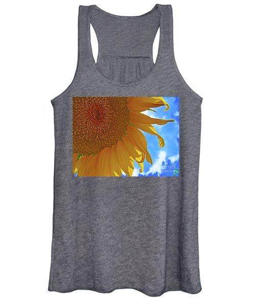 Blue Sky Sunflower Women's Tank Top
